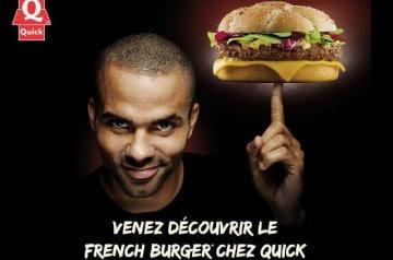 French Burger chez Quick