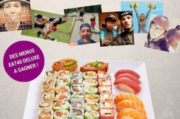 Gagnez un menu Deluxe chez Eat Sushi