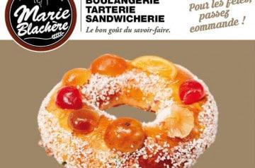 Gâteau et galette des Rois chez Marie Blachère