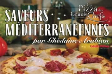 Ghislaine Arabian imagine une pizza pour La Boîte à Pizza