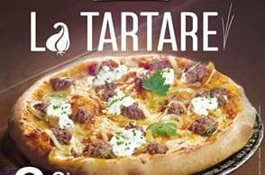 Goûtez à la Tartare de La Boîte à Pizza