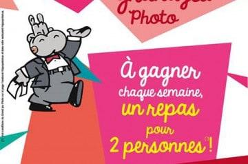Grand jeu photo et viande à partager chez Hippopotamus