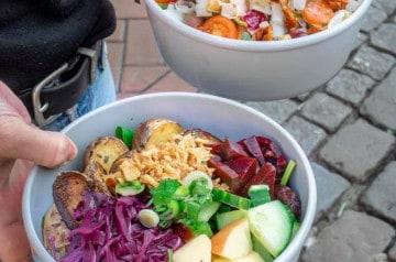 Green is better: un repas léger en cette fin d'été 2019