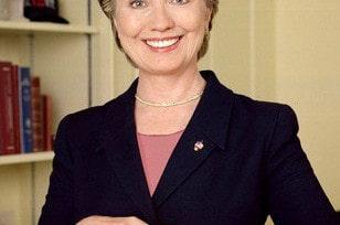 Hillary Clinton déjeune  en fast-food