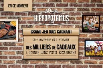 Hippopotamus a 50 ans et il vous gâte