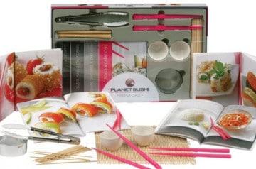 Idée cadeau : Le coffret Master Class de Planet Sushi