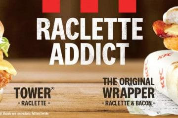 KFC donne rendez-vous aux fous de raclettes