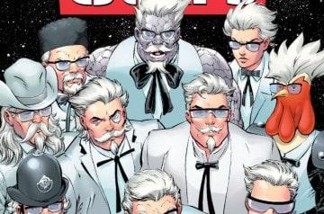 KFC et DC Comics s'affichent ensemble