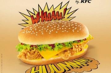 KFC et son Double Sweet & Fire