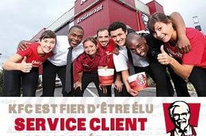 KFC, Service Client 2014