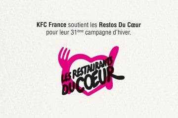 KFC soutient les Restos du Cœur