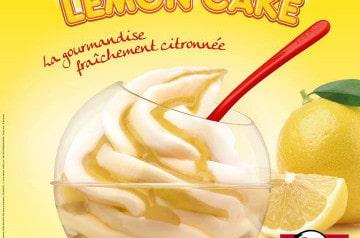 Kream Ball Lemon'Cake de KFC