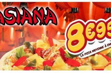 L'Asiana La boite à Pizza