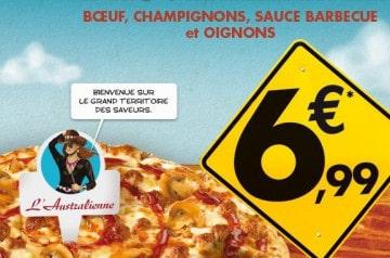 L'Australienne chez Domino's Pizza