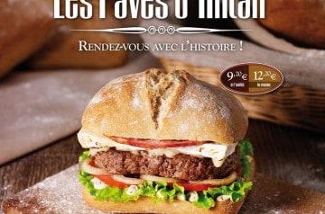 L'histoire sous forme de burgers chez Speed Burger