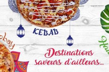 La Boîte à Pizza : 3 recettes d'ailleurs pour l'été