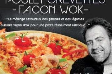 La Boîte à Pizza et son Poulet Crevettes Façon Wok