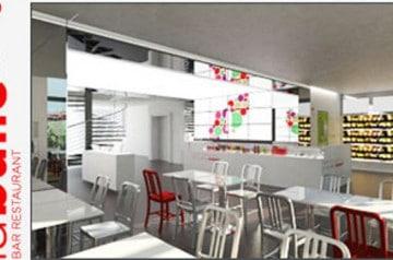 La Bulle, bar-restaurant Coca-Cola
