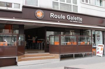 La crêpe fast food avec Roule Galette
