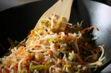 La cuisine au wok à emporter