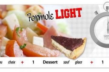 La formule light Pizza Time