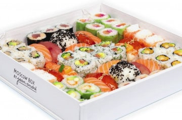 La Moscow Box de Sushi Shop, édition Coupe du Monde 2018