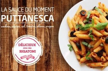 La nouvelle sauce Puttanesca chez Francesca
