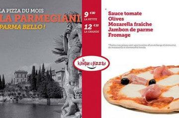 La Parmegiani Le Kiosque à Pizzas