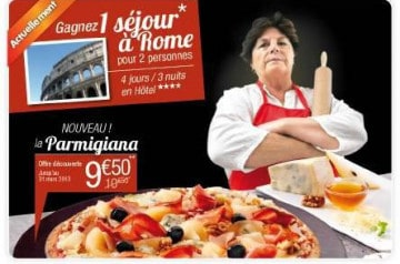 La Parmigiana de Tutti Pizza