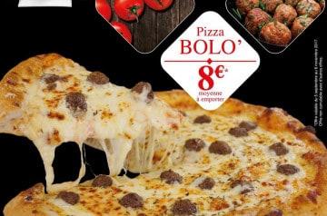La pizza Bolo', la pizza de la rentrée chez La Boîte à Pizza