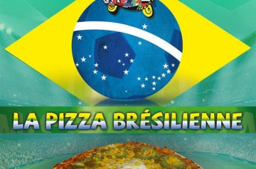 La Pizza Brésilienne chez Mister Pizza