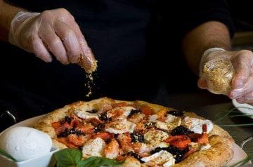 La pizza la plus chère au monde