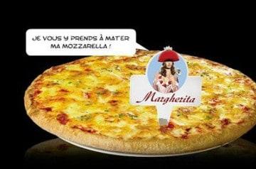 La pizza Margherita en restauration rapide