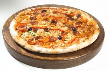 La pizza moitié-moitié chez Mister Pizza