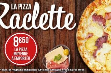 La pizza Raclette chez La Boîte à Pizza
