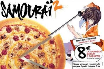 La Pizza Samouraï Pizza Hut