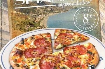 La pizza Spianata chez La Boîte à Pizza