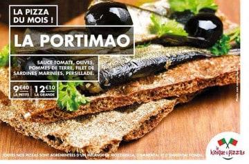 La Portimao, la nouvelle pizza du Kiosque à Pizzas