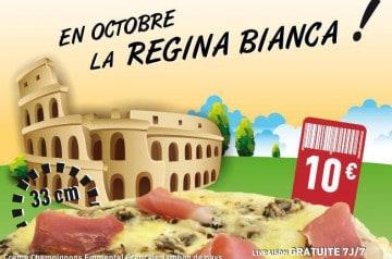 La Régina Bianca chez Pizza Bonici