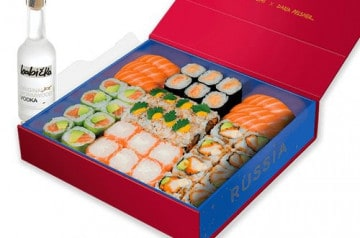 La Russia Box, la box Coupe du Monde de Côté Sushi