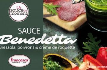 La sauce de la rentrée dans les restaurants Francesca