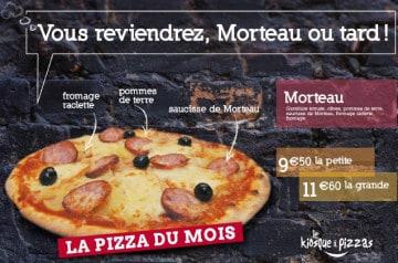 La saucisse de Morteau au Le Kiosque à Pizzas
