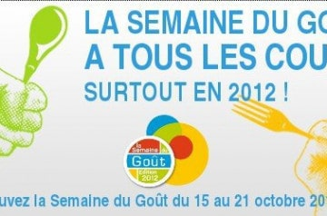 La semaine du goût 2012