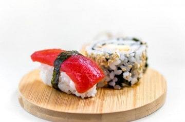 La tarte-sushi, nouvelle star des réseaux sociaux