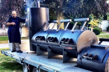 Le barbecue ambulant selon My Food Montreuil