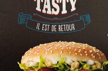 Le Big Tasty de Mc Donald's