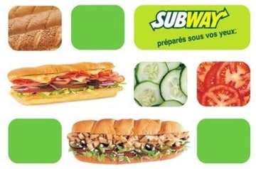 Le bon plan Subway -68% !