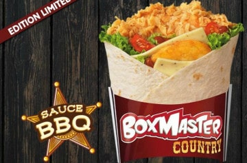 Le Boxmaster country sauce BBQ de KFC