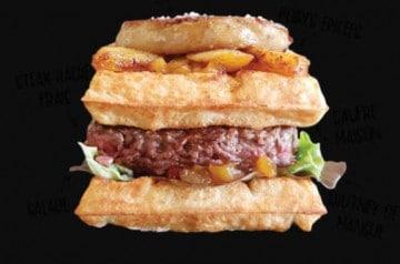 Le burger au foie gras de Patacrêpe