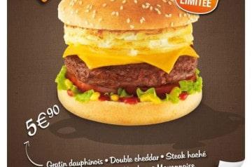 Le Dauphinois par Speed Burger